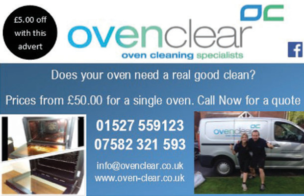 Oven Clear Advert