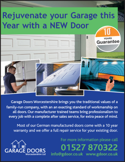 Garage Doors Worcestershire Ltd Advert