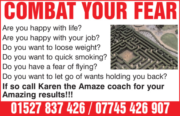 Mrs Karen Baughan Advert