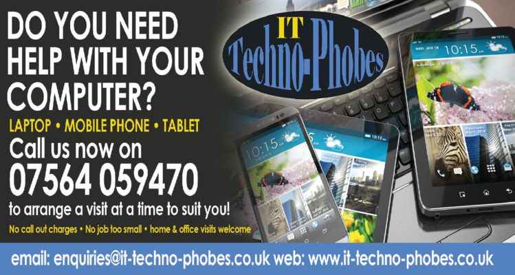 It Techno-Phobes Ltd Advert