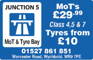 Junction 5 Mot's & Tyre Bay Advert