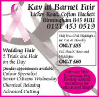 Barnet Fair Advert
