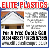 Elite Plastics Advert