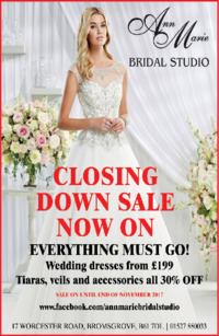 Ann Marie Bridal Advert
