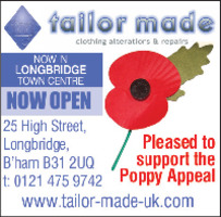 Tailor Made Sewing Ltd Advert