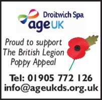 Age UK (Droitwich) Advert
