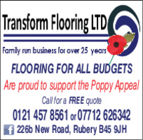 Transform Flooring Advert