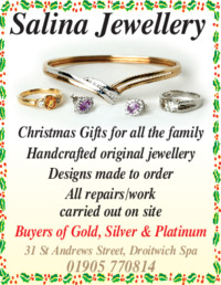 Salina jewellery Advert