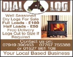 Dial A Log Advert