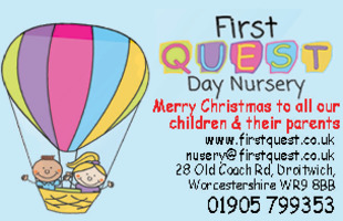 First Quest Day Nursery Advert