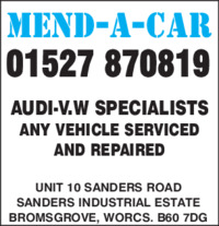 Mend-A-Car Advert