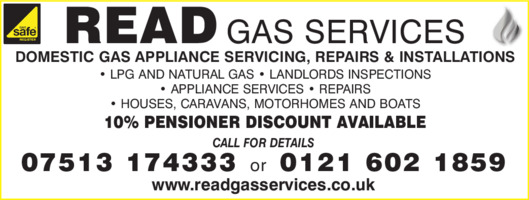 Read Gas Services Advert