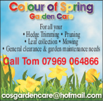 Colour Of Spring Garden Care Advert