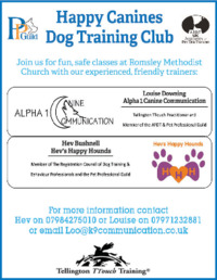 Alpha 1 Canine Communication Ltd Advert