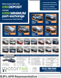 Motorfair (Birmingham) Ltd Advert