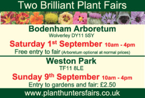 Plant Hunters Fair Advert