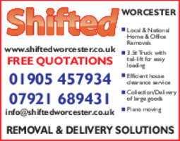 Shifted Worcester Advert
