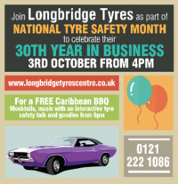 Longbridge Tyres Advert