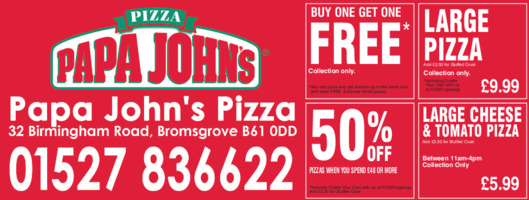Papa Johns Advert