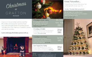 Grafton Manor Hotel Advert