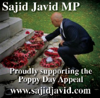 Sajid Javid MP Advert