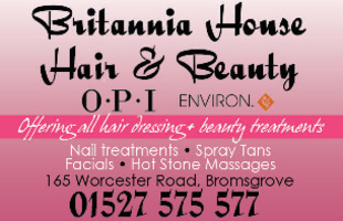 Britannia House Hair & Beauty Advert