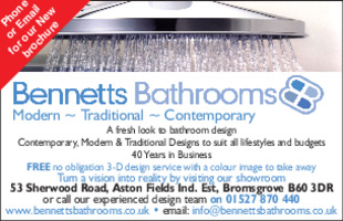 Bennetts of Bromsgrove Ltd Advert