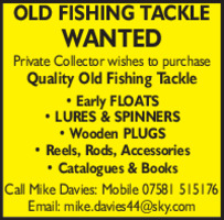 Quality Old Fishing Tackle Advert
