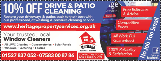 Heritage Property Services Advert
