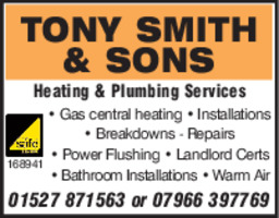 Tony Smith & Sons Ltd Advert