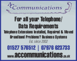 A C Communications Advert