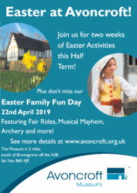 Avoncroft Museum Of Historic Buildings Advert