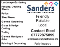 Landscape And Garden Services Advert