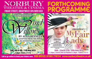 Norbury Theatre/Droitwich Theatre & Advert