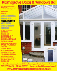 Bromsgrove Doors & Windows Ltd Advert