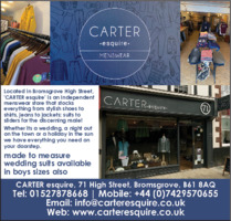 Cartersquire Advert
