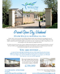 Willow Park Advert