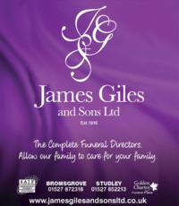 James Giles & Sons Advert