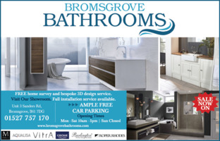 Bromsgrove Bathrooms Advert