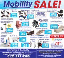 Hearing Health & Mobility Ltd Advert