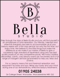 Bella Studio Advert