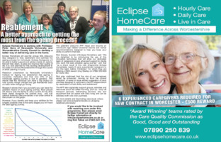Eclipse Homecare Advert