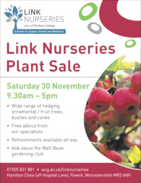 Link Nurseries Advert