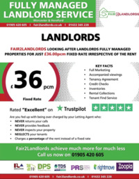 Fair 2 Landlords Advert