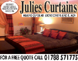 Julies Curtains Advert