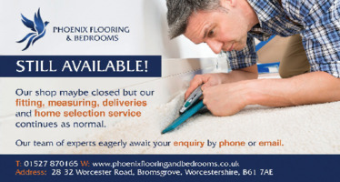Phoenix Flooring & Bedrooms Advert