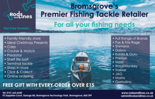 Rods & Lines Advert