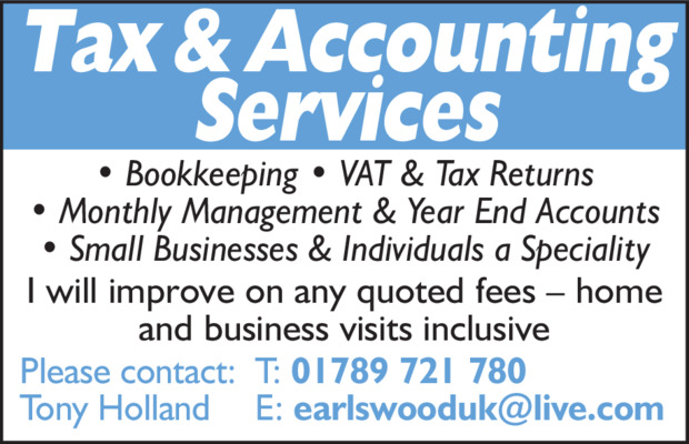 Tax&Accounting Services Advert