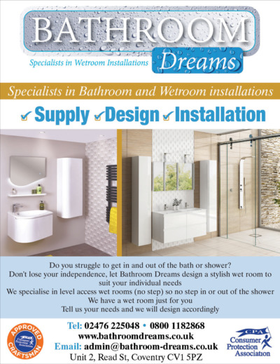 Bathroom Dreams Advert