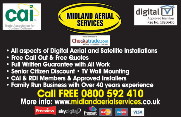Midland Aerial Services Advert